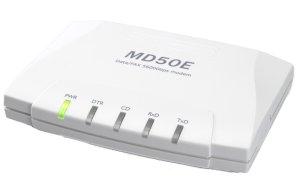 画像1: ナンバー・ディスプレイ 内線(PBX)対応モデムMD50ER