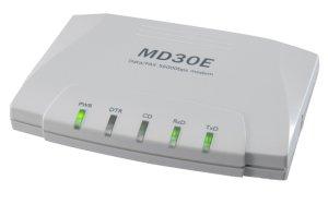 画像1: RS-232C外付け型データ/FAXモデムMD30E