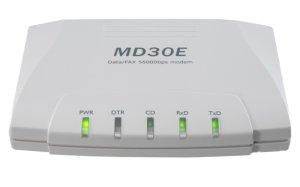 画像2: RS-232C外付け型データ/FAXモデムMD30E